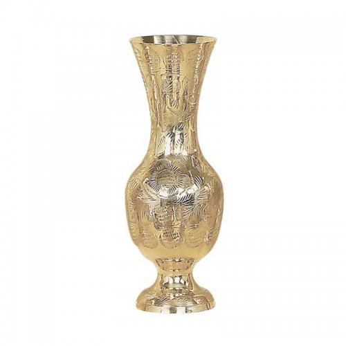 Váza mosadzná malá 02
