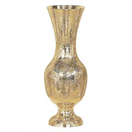 Váza mosadzná veľká 02