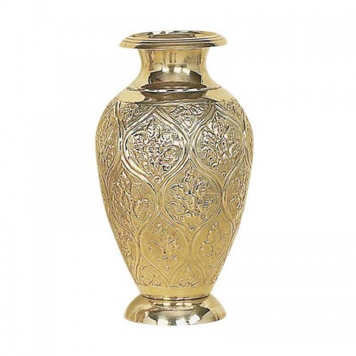 Váza mosadzná veľká 04