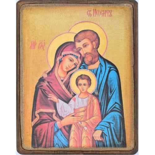 Ikona svätej rodiny motív 3
