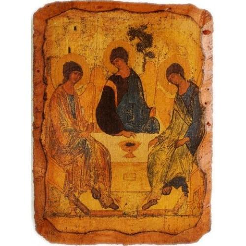Fragment z ikony Presvätej Trojice