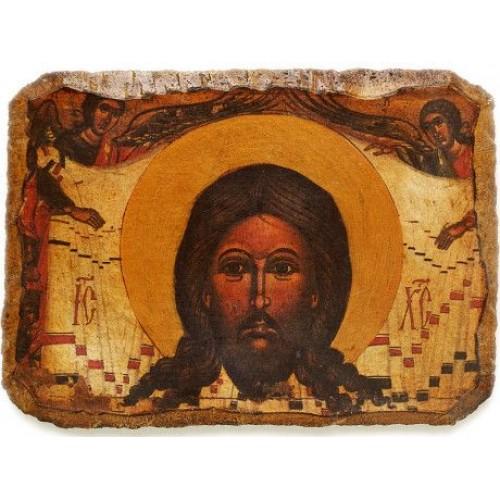 Fragment ikony Mandylion