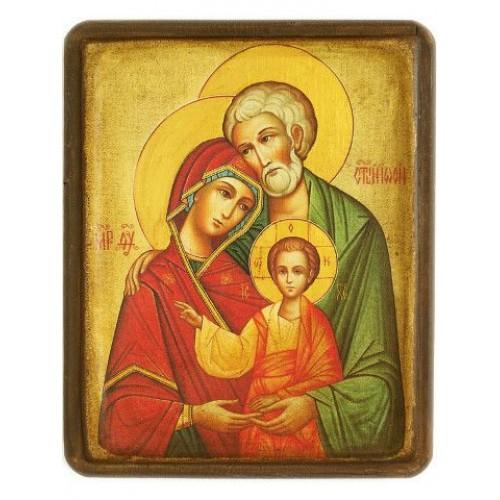 Ikona svätej rodiny motív 4