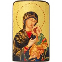 Cestovná ikonka - Matka ustavičnej pomoc