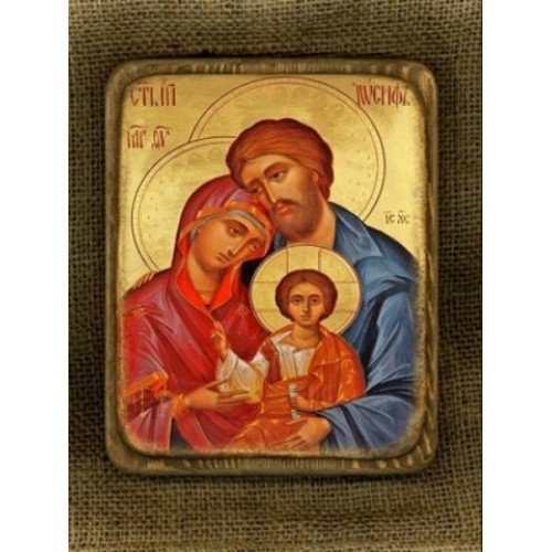 Ikona svätej rodiny motív 11