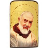 Cestovná ikonka - Sv. Páter Pio motív 1.