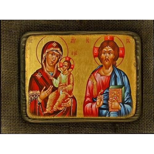 Kristus a Bohorodička