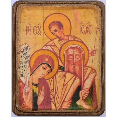 Ikona svätej rodiny motív 6