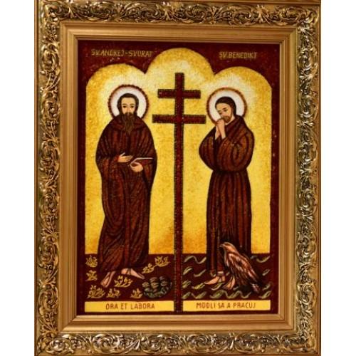 Sv. Andrej-Svorad a Beňadik - jantár