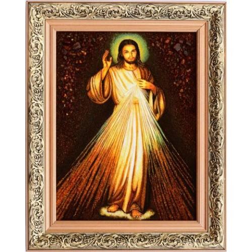 Obraz Božieho milosrdenstva 2 - jantár