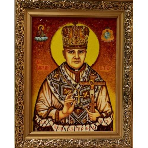 Bl. Vasiľ Hopko - jantár