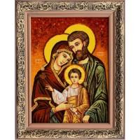 Svätá rodina - jantár