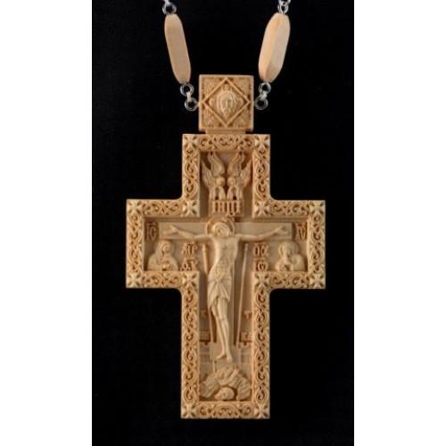 Kňazský kríž No5 (drevený-jednofarebný)