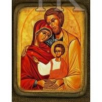 Ikona sv. Rodiny motív 7
