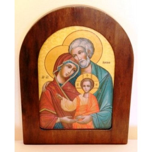Ikona svätej rodiny motív 8