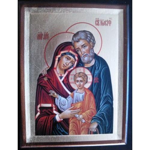 Ikona svätej rodiny motív 9