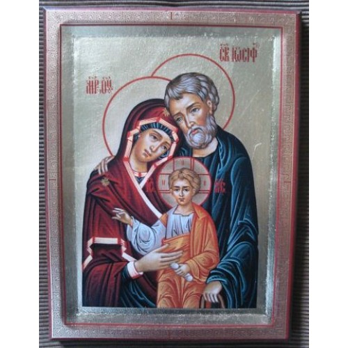 Ikona svätej rodiny motív 9a