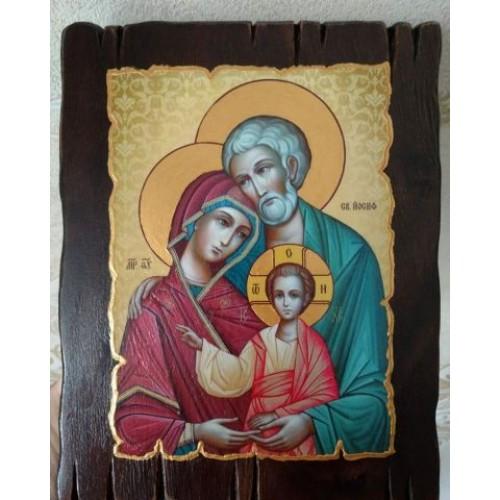 Ikona svätej rodiny motív 10