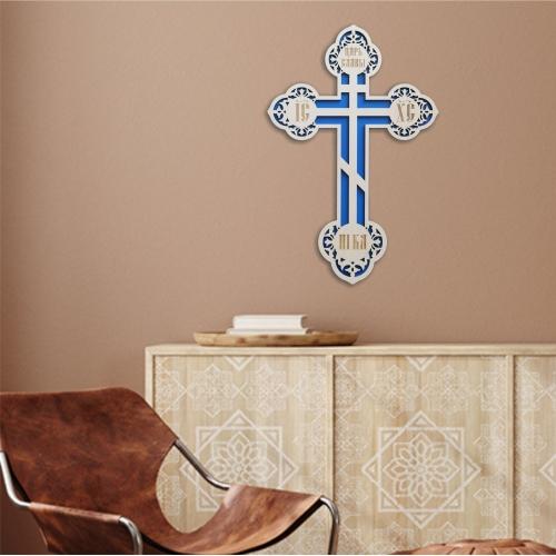Kríž vyrezávaný, vzor 4
