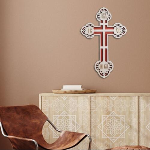 Kríž vyrezávaný, vzor 6