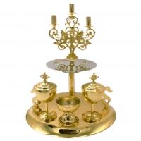 Kríž s modlitbou Otče náš, vzor 1 - rómsky