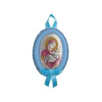 Detská ikona, vzor 09 - modrá