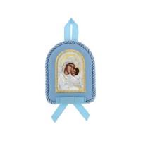 Detská ikona, vzor 11 - modrá