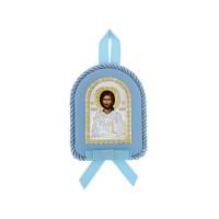 Detská ikona, vzor 14 - modrá