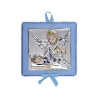 Detská ikona s melódiou, vzor 02 - modrá