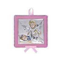 Detská ikona s melódiou, vzor 02 - ružová
