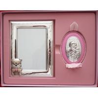 Detský set s ikonou, vzor 01 - ružový