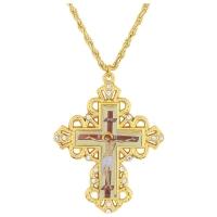 Náprsný kríž - kňazský protojerejský, vzor 50