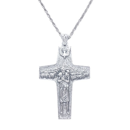 """Náprsný kríž - kňazský jerejský """"Dobrý pastier"""""""