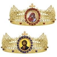Svadobné koruny, vzor 1
