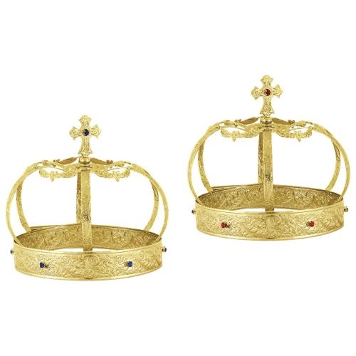 Svadobné koruny, vzor 3