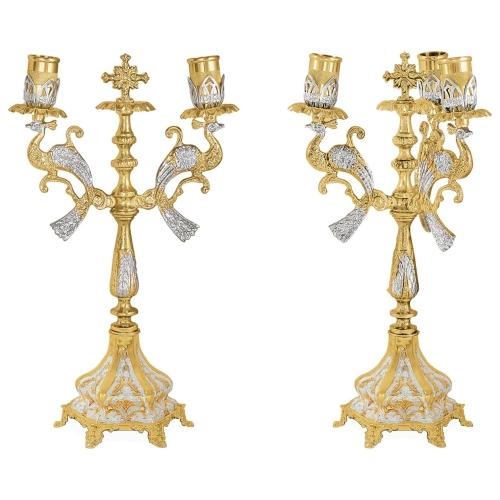 Biskupské svietniky (dikirion, trikirion), verzia 2