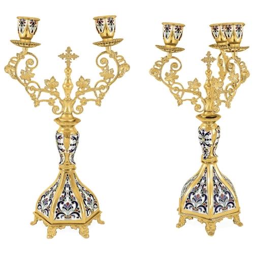 Biskupské svietniky (dikirion, trikirion), verzia 4