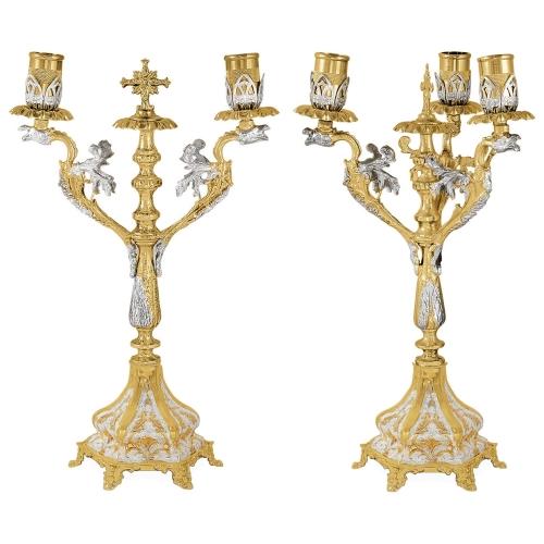 Biskupské svietniky (dikirion, trikirion), verzia 5