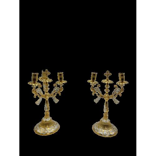 Biskupské svietniky (dikirion, trikirion), verzia 6