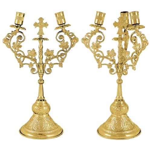 Biskupské svietniky (dikirion, trikirion), verzia 7