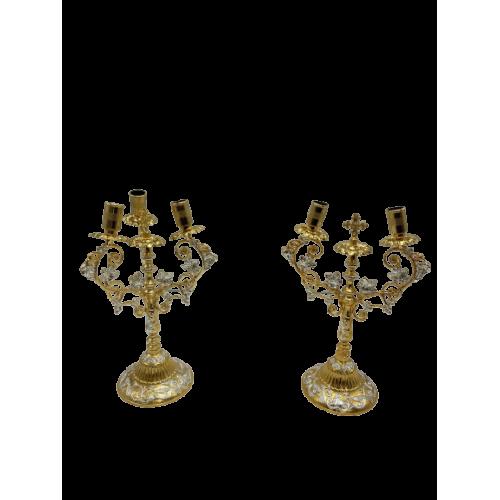 Biskupské svietniky (dikirion, trikirion), verzia 9