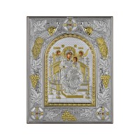 Strieborná ikona - Bohorodička Pantanacca