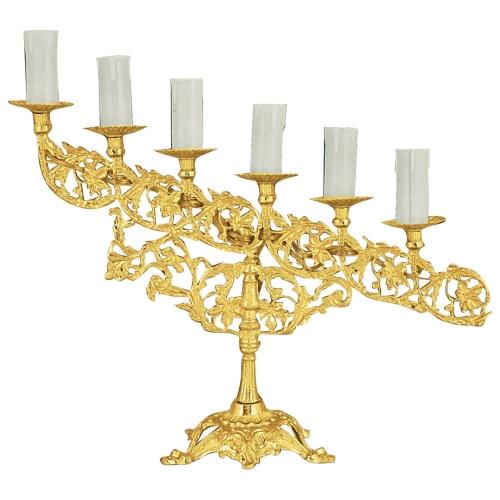 Päťramenná lampáda, vzor 1