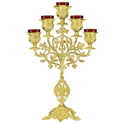 Päťramenná lampáda, vzor 3