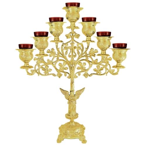 Sedemramenná lampáda - sedemsvietnik, vzor 1