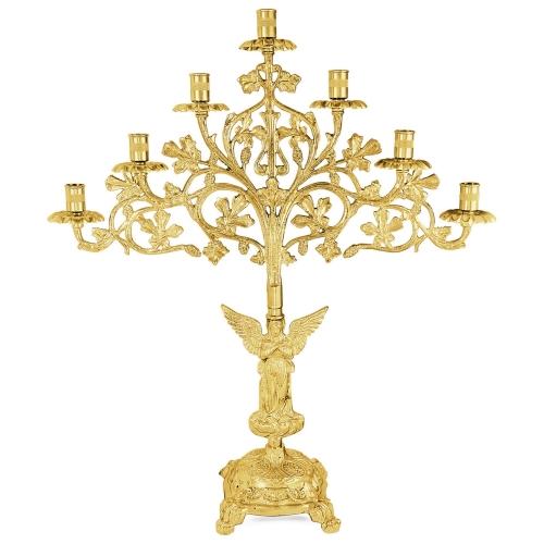 Sedemramenná lampáda - sedemsvietnik, vzor 2