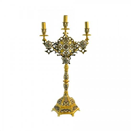 Sedemramenná lampáda - sedemsvietnik, vzor 4