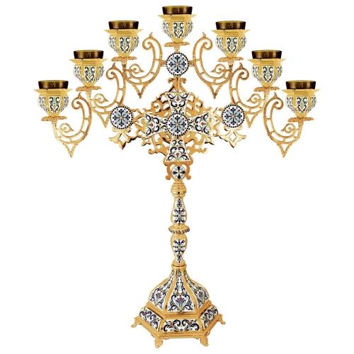 Sedemramenná lampáda - sedemsvietnik, vzor 5