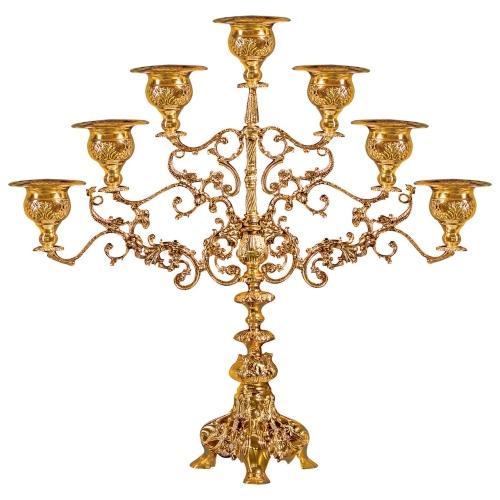 Sedemramenná lampáda - sedemsvietnik, vzor 8