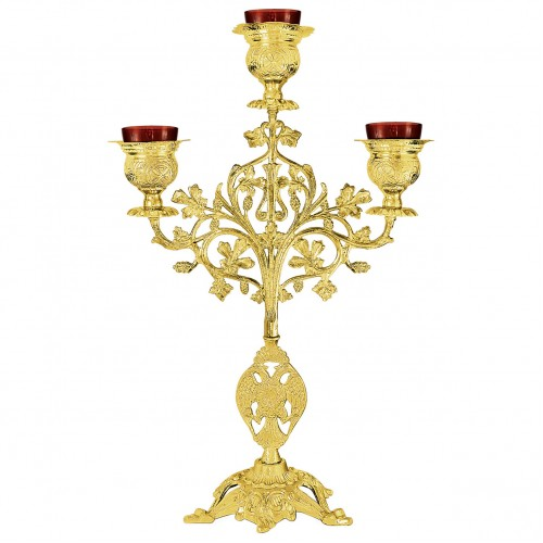 Trojramenná lampáda, vzor 5
